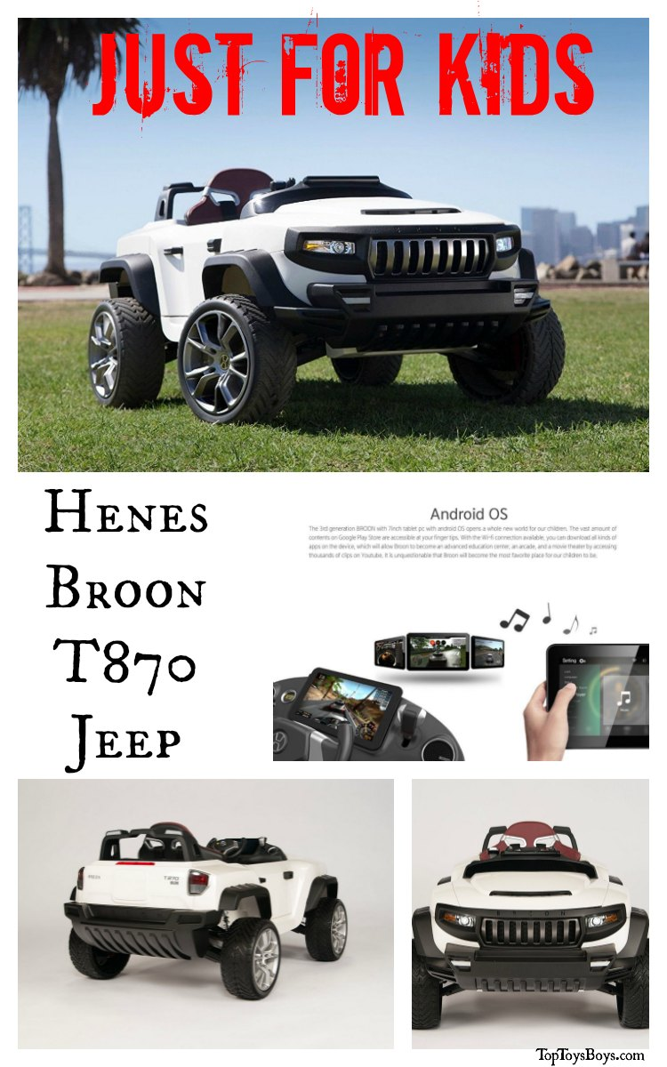 Luxury Cars for Kids - Jeep