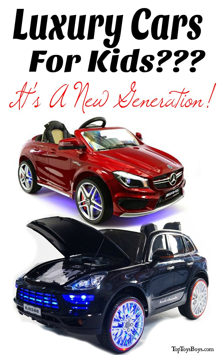 Luxury Cars for Kids - New Generation
