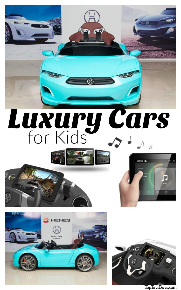 Luxury Cars for Kids