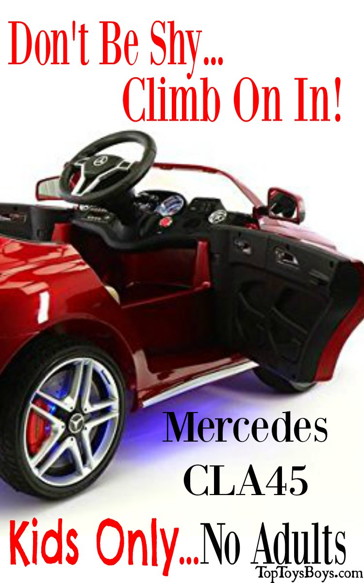 Luxury Ride On Cars Kids - Mercedes-Benz