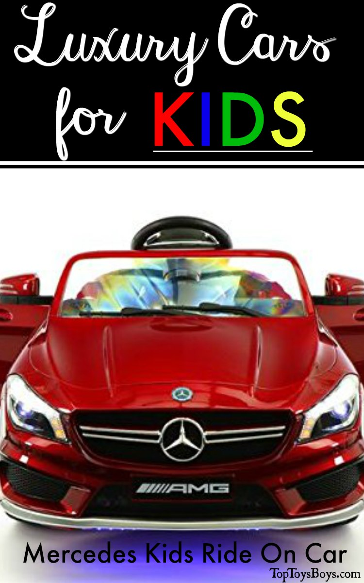 Mercedes Kids Ride On Car