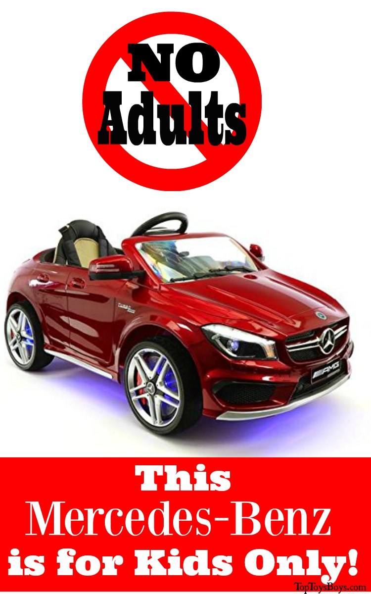 Mercedes Ride On Car for Kids