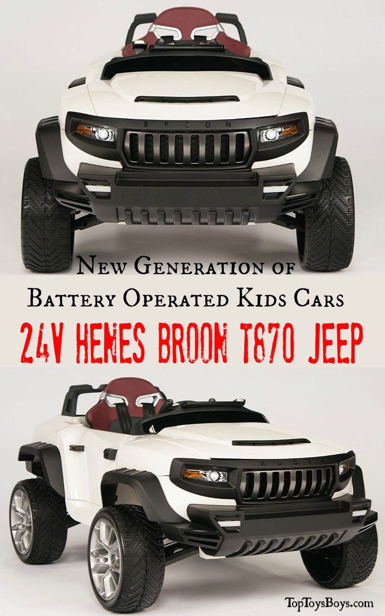 New Generation of Battery Operated Kids Cars