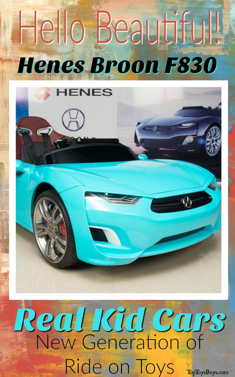 Real Kid Cars - Luxury Cars for Kids