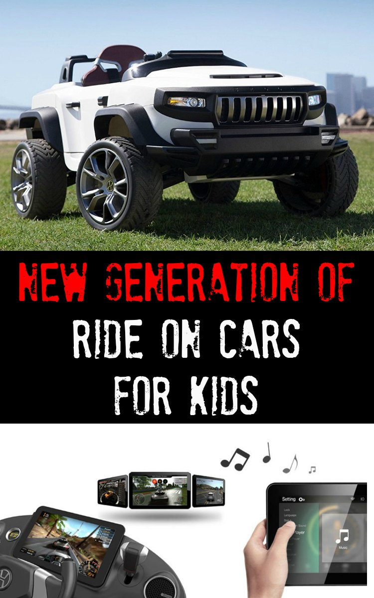 Ride On Cars for Kids - New Generation of Cars