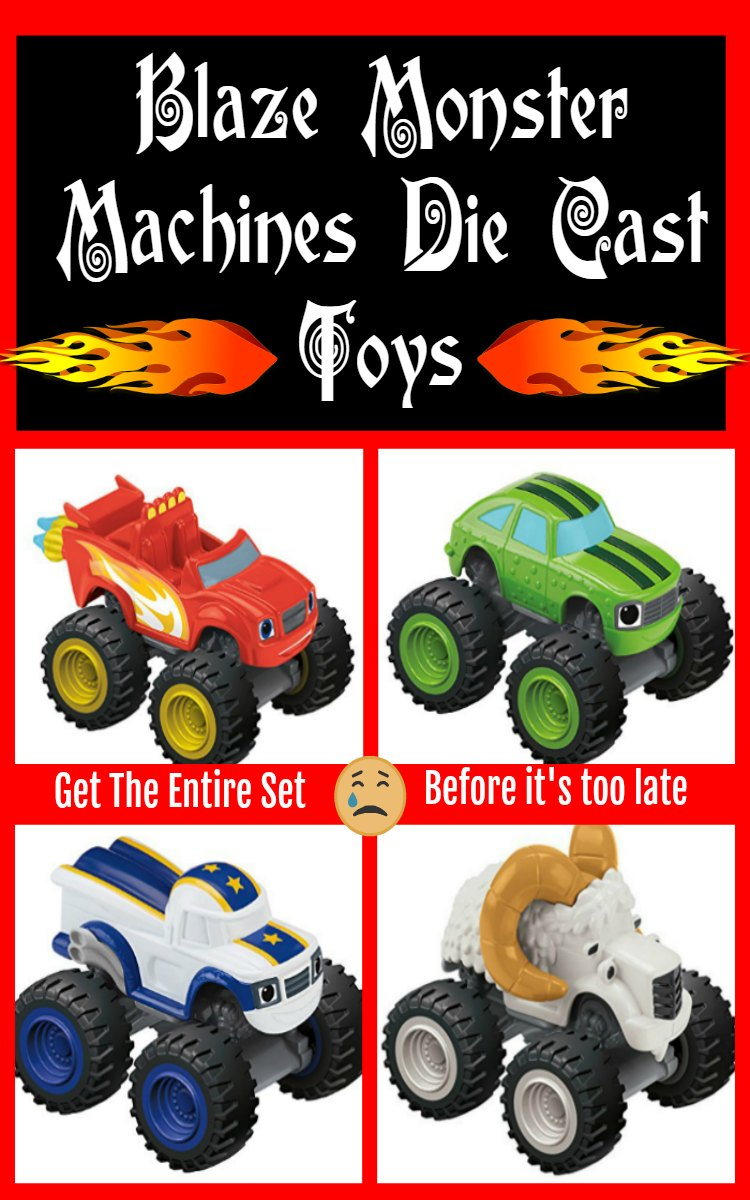 Blaze Monster Machines Die Cast Toys