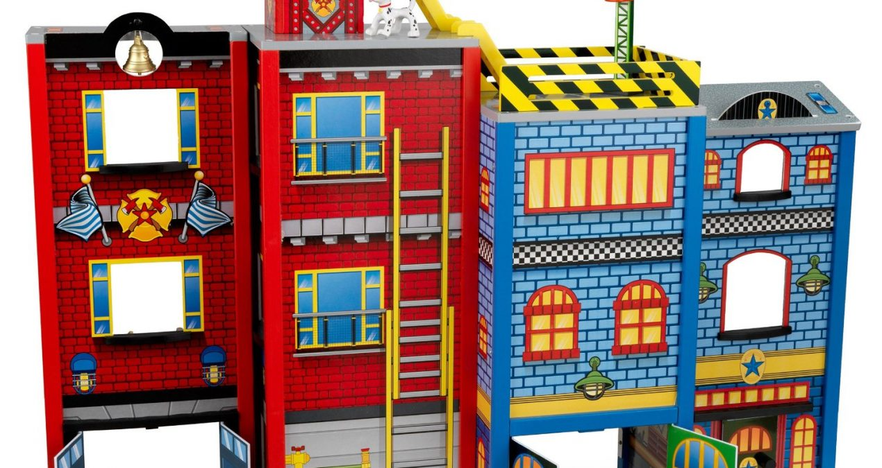 KidKraft Everyday Heroes Set   An Entire City In One Play Set