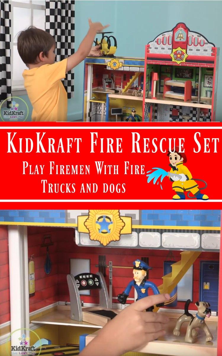KidKraft Fire Rescue