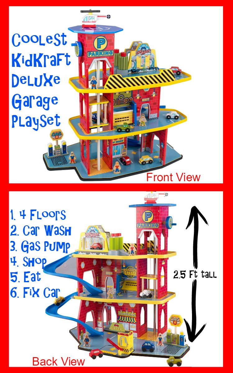 Kids Garage Playset