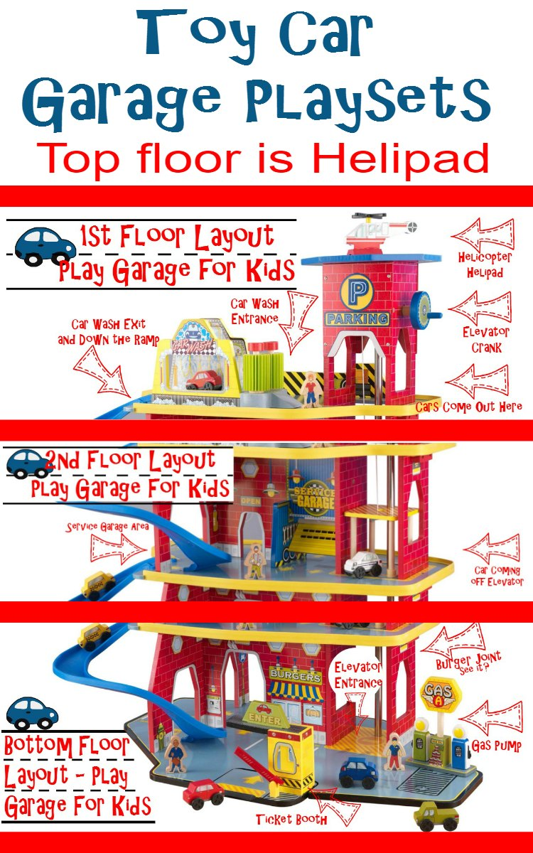 Toy Car Garage Playsets