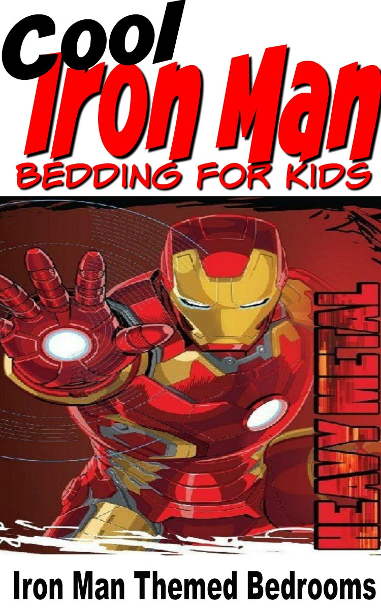 Cool Iron Man Bedding for Kids
