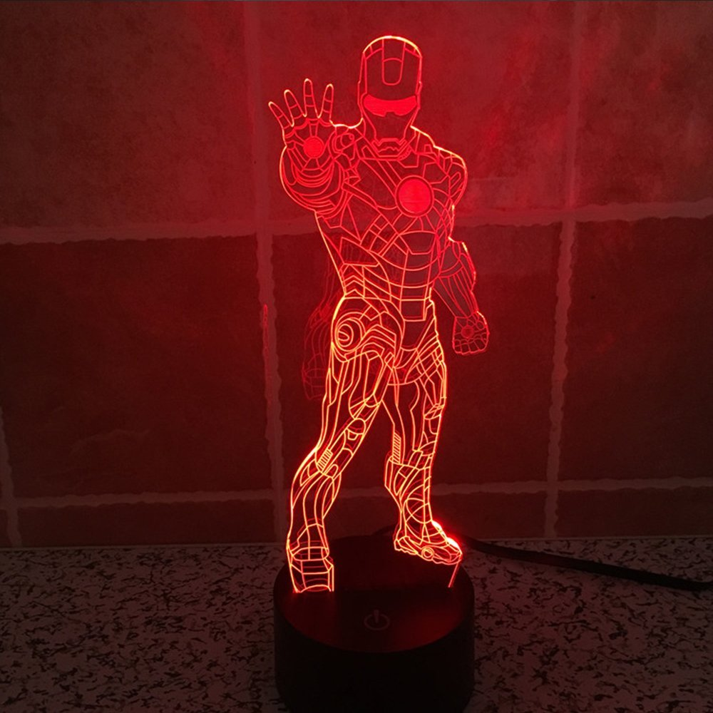 Iron Man Bedroom Light