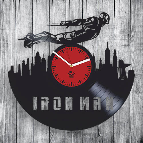 Iron Man Clock