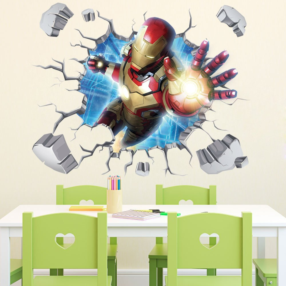 Iron Man Wall Decal